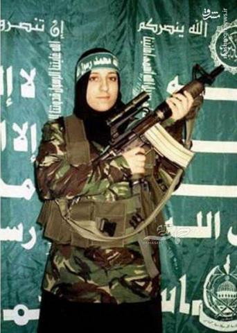 عکس/ اولین زنی که عملیات استشهادی انجام داد