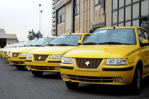عرضه ۳۰ هزار تاکسی  به ناوگان حمل و نقل عمومی