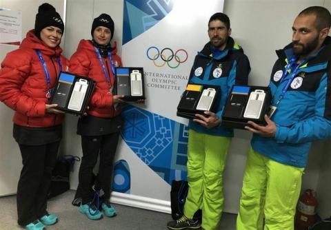 هدیه سامسونگ به ورزشکاران ایرانی پس از عذرخواهی