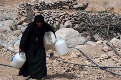 بحران تامین آب چهار شهر خوزستان
