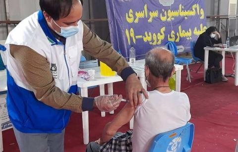 رکورد تزریق واکسن در کشور شکست