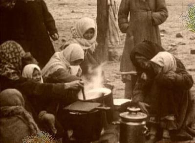 قحطی غذا در ایران، 101 سال پیش/عکس
