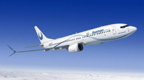 پرواز بوئینگ های جدید در آسمان ایران