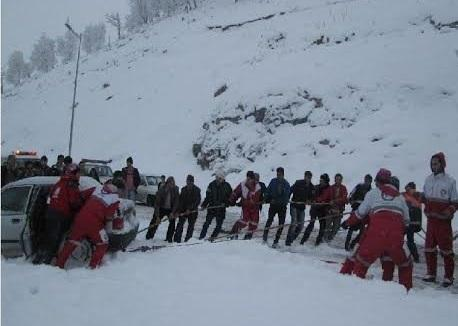 4 استان درگیر برف و کولاک طی ۴۸ ساعت گذشته