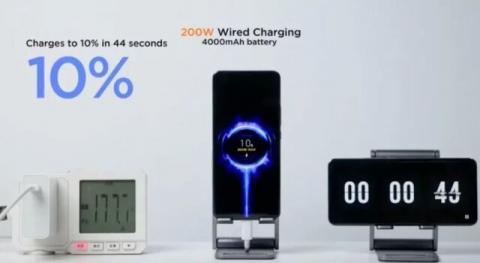 شارژ گوشی شیائومی در عرض ۸ ثانیه
