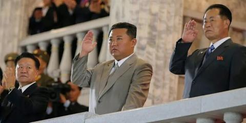 کاهش وزن شدید رهبر کره شمالی+عکس