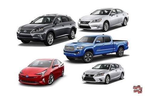 مورد اعتمادترین برند خودروی جهان معرفی شد