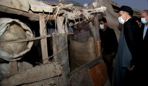 قول رئیس جمهور به کپرنشینان سیستان و بلوچستان