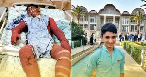 نوجوان فداکار خوزستانی درگذشت