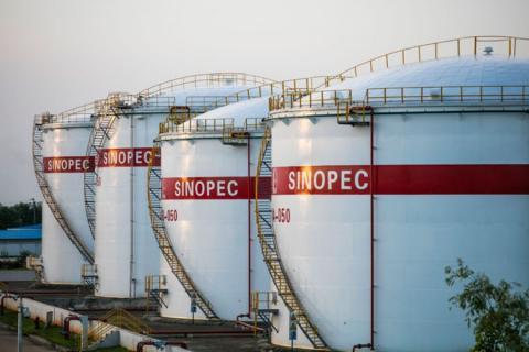 خرید نفت سینوپک چین از ایران نصف شد