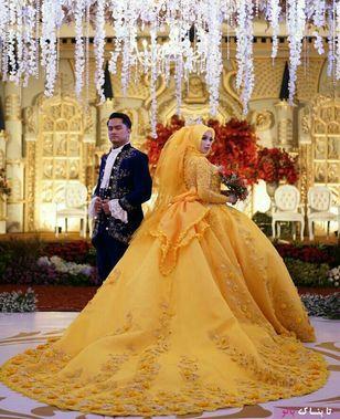 مدل لباس عروس اسلامی+عکس